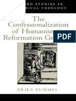 Erika Rummel - The Confessionalization of Humanism in Reformation Germany (Oxford Studies in Historical Theology) (2000)