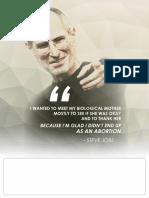 Adoption Flyer - Steve Jobs