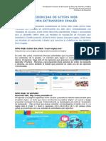 Sugerencias de Sitios Web Inglés