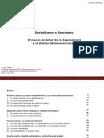 Socialismo o Fascismo Theotonio Santos