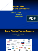 Brand Plan for Pharma Products - Lecture slides.ppt