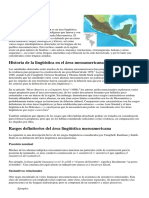 Área Lingüística Mesoamericana