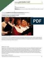→ Técnicas para la música coral _ Geniolandia