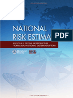 DHS National Risk Estimate GPS Disruptions