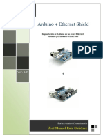 Arduino + Ethernet Shield costos