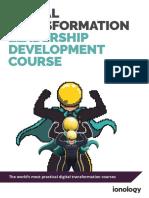 Digital Transformation Course Brochure 1