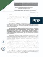 Resolución de improcedencia de licenciamiento institucional de universidad del 'pasto' Santana
