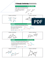 notes triangle similarity statements student notes