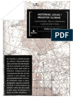 MIGNOLO Walter Historia Locais Projetos Globais Ed