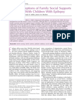 Jurnal Parent Perceptions of Family Social Supports in Families Children With Epilepsy