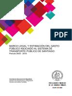 Estudio de la Contraloría sobre la inversión en Transantiago