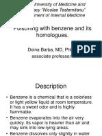 Benzene Poisoning