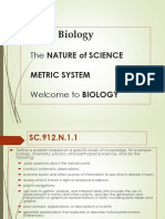 Florida Biology and the Scientific Method 2016 With Questions 2
