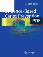 Evidence Based Caries Prevention
