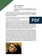 Top 30 Filósofos de La Edad Media
