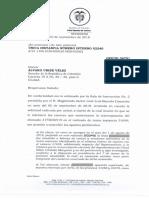 Respuesta de la Corte a el expresidente Uribe