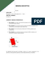 Memoria Descriptiva CDC