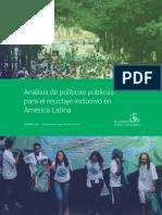 Análisis de políticas públicas para el reciclaje inclusivo en America Latina.pdf