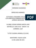 EVOLUCIÓN DE LOS DERECHOS HUMANOS EN EL SISTEMA JURÍDICO MEXICANO