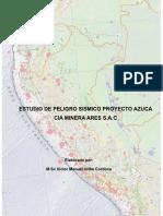 1. Informe Peligro Sismico MODELO