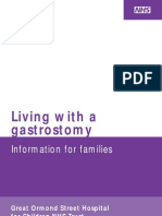 Living With Gastrostomy