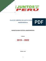 JUNTOS POR EL PER+Ü}