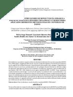 COMPARAÇÃO ENTRE FATORES DE REFLECTÂNCIA GERADOS A PARTIR DE DADOS DOS SENSORES TM/LANDSAT 5 E MODIS/TERRA APLICANDO DIFERENTES METODOLOGIAS DE CONVERSÃO DE DADOS