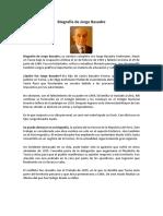 Biografía de Jorge Basadre