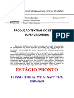 Unopar Portfólio - Estagio 2018 Comércio de Roupas e Confecções