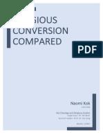 Religous Conversion Compared