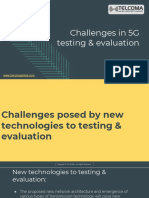 5G Testing Training Certification TELCOMA Global