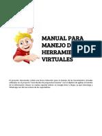 Manual Para Manejo de Herramientas Virtuales (1).Docx
