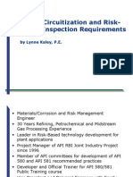 Piping Circuitization and RBI Requirements Lynne Kaley