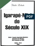 Igarapé-miri Do Século XIX (Pará)