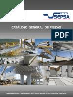 Catálogo de Piezas Prefabricadas Sepsa