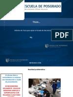 Sugerencias TESIS Diapositivas 2016