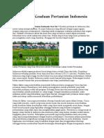 Bagaimana Keadaan Pertanian Indonesia Saat Ini.docx