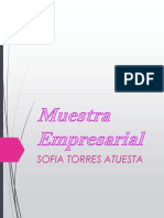 Muestra Empresarial