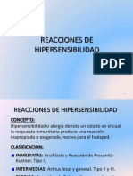 Reacciones de Hipersensibilidad 1
