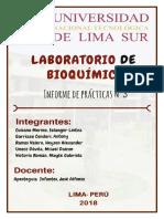 LABORATORIO DE BIOQUÍMICA N°3