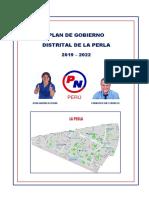 Candidatos para el distrito de La Perla.
