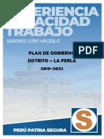 Plan de Gobierno de Emilio Hidalgo Conde