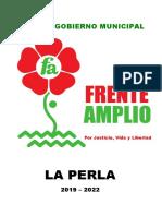 Plan de Gobierno Ricardo Vasquez Muños
