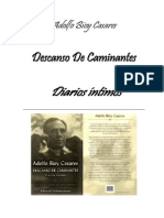 Adolfo Bioy Casares - Descanso de Cam in Antes. Diarios Intimos