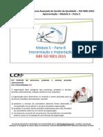 ISO 9001.2015 Modulo 5-B