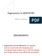 Ergonomics in Dental sector