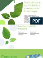 Presentacion Acondicionamiento ambiental y energias renovables