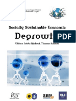Socially Sustainable Economic Degrowth - April 16, 2009