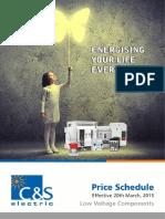 C&S LV Price Schedule_2016