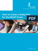 Aamc MCAT Study Plan
